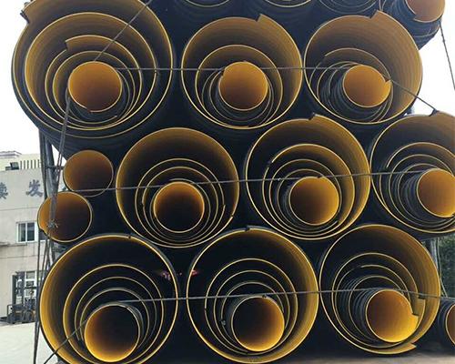 HDPE刚带增强双壁波纹管