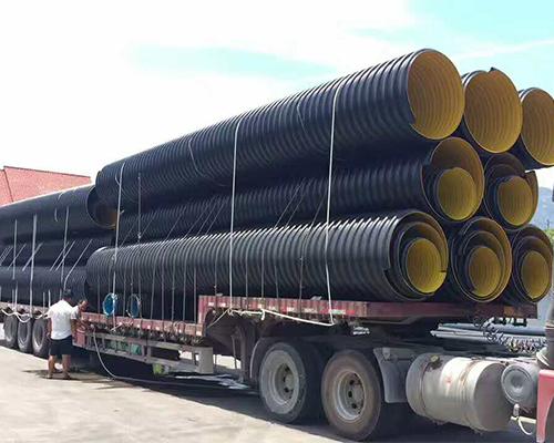 HDPE刚带增强双壁波纹管厂家