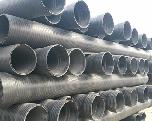 HDPE承插式双平壁缠绕管